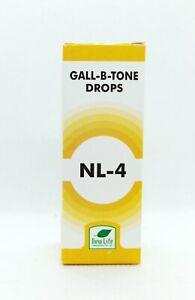 New Life NL-4 (Gall B Tone Drops) (30ml) + gall bladder stone drops UK SELLER