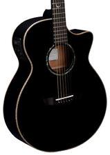 Faith Eclipse Serie Venus Concierto Guitarra Electro Acústica, negro (Nuevo)