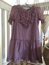 Girls Summer Party Dress 100% cotton in Blush Pink Size 9-10T