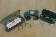 Lot of 5 Antique eyeglasses