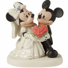 Disney Precious Moments 153706 Mickey & Minnie Wedding New & Boxed