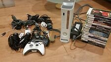 Xbox 360 BUNDLE 120GB 2 controllers, 2 microphones, 16 games, Headset and extra