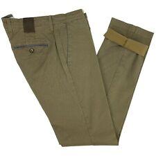 Pantalone da Uomo Slim Fit Elasticizzato Cotone Fantasia Cammello 48 50 52 56 58