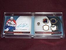 14-15 THE CUP Aaron Ekblad Autograph Booklet Rookie Gear /25 AUTO RC Tag Strap