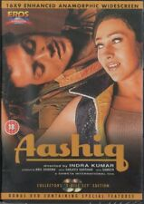 AASHIQ - 2 DISC SET - BOLLYWOOD DVD - Bobby Deol, Karishma Kapoor, Anupam Kher.