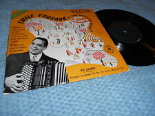 "Emile Carrara et son orchestre Musette No 2 10"" LP Rare France Accordeon"