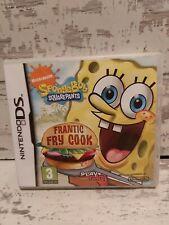 Spongebob Schwammkopf Frantic Frittieren [Nintendo DS/Lite/DSi/XL Spiel] ORIGINAL