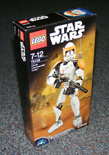 STAR WARS LEGO 75108 CLONE COMMANDER CODY BUILDABLE FIGURE BRAND NEW SEALED