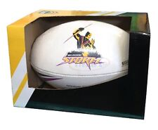 Steeden Powerade Official Melborune Storm Replica NRL Rugby Match Ball