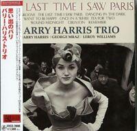 BARRY HARRIS TRIO-THE LAST TIME I SAW -JAPAN MINI LP CD C75