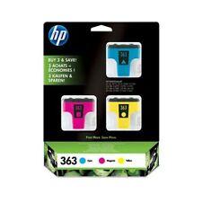 HP HEWLETT PACKARD HP 363 MULTIPACK INK CARTRIDGE CB333EE CYM 2015 DATES