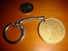 Singapore Airlines, Early 1970's Vintage Collectible Keychain, Rare