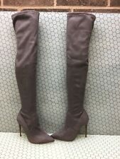 026da0409fd Steve Madden Over-the-Knee Gray Boots for Women for sale | eBay