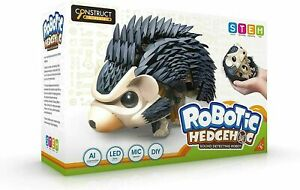Construct and Create Robotic Hedgehog Interactive Sound Detecting