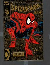 Spider-Man #1 MARVEL 1990 2nd Printing Gold Edition