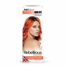 Paint Glow Rebellious Colours Semi-permanent Conditioning Hair Dye 70ml Electric Blue