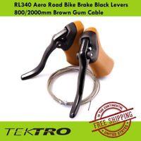Tektro RL520 Road Bike Aero V-Brake Levers Black 1 Pair