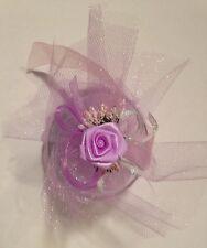 Violet & Pink Floral Votive Candle Holders 16 Total Party Favors