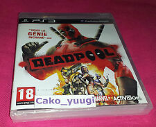 DEADPOOL SONY PS3 NEUF SOUS BLISTER VERSION 100% FRANCAISE