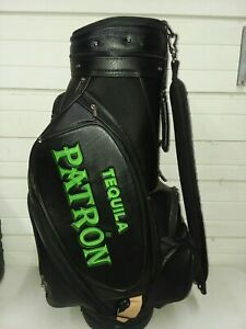 Patron Tequila Leather Golf Bag