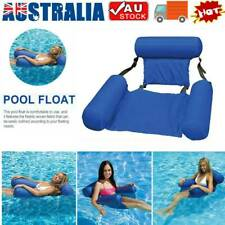 Inflatable Floating Water Hammock Float Pool Lounge Bed Swimming Chair Sea Beach
