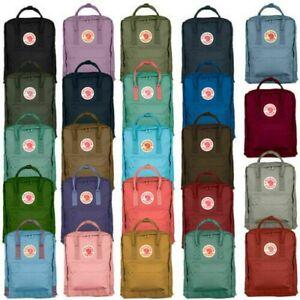Zaino Marca 7L/16L/20L Fjallraven Kanken Viaggio Spalla Scuola Unisex Backpack