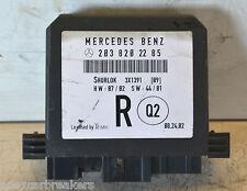 Mercedes Clase C Módulo de control de puerta trasera derecha A2038202285 W203 2001-2007
