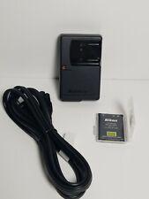 Genuine Nikon EN-EL10 Battery 740mah + Nikon MH-63 Camera charger