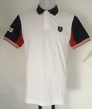 England Rugby Blanc S/S POLO SHIRT by EDEN PARK taille homme L neuf