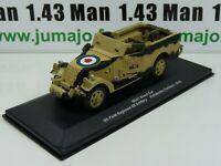 WW14 Eaglemoss 1/43 Blindés WW2 : M3A1 Scout Car NZ Artillery Tunisia 1943