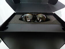 01-009 CUSTOM Oakley Thump Pro Mp3 Brown Smoke / Gray Iridium NWT