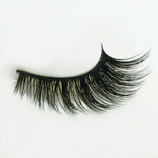3 Faux-cils Handmade Real Mink Luxurious Natural Thick Soft  False Eyelashes