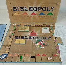 Vtg 1991 Bibleopoly Monopoly Board Game Religious Christian Unopened