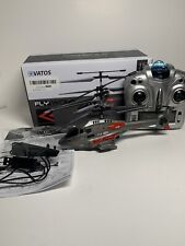 VATOS RC Helicopter Fly Wolf 3.5CH Double Blade Infrared Remote Control