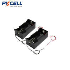 2pcs DC R20 E95 D Size Cell Battery Holder Case Box with Wire Leads