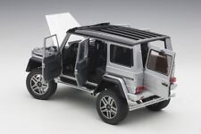 Autoart  MERCEDES BENZ G500 4X4² 2016 SILVER 1/18 Scale New Release In Stock!