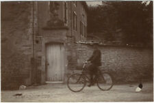 2 Photos Citrate VéloVélocipèdeBicyclette Bike Vers 1890