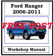 FORD RANGER 2006-2011 WORKSHOP SERVICE REPAIR MANUAL DIGITAL DOWNLOAD