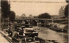 CPA PARIS (6e) Le Pont de la Monnaie. Le Pont Neuf. Persp. Du Louvre (537677)