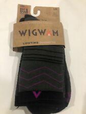 Wigwam 05D Blue Heather#187G Women/'s All Weather Classic Crew Sock
