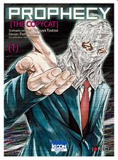manga Prophecy - The Copycat tome 1 Tetsuya Tsutsui Seinen KI-Oon Manhole Reset