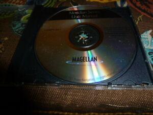 Magellan Meridian Series User Manual CD  P/N 500115