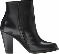 FRYE Jenny LEATHER Short ANKLE Zip HIGH HEEL Boots FASHION BOOTIE Womens size 10