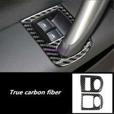Carbon Fiber Interior window switch panel cover Tirm For Audi TT TTS 2008-2014