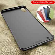 Ultra Shockproof Matte Frameless Acrylic Back Case Cover for iPhone XS Max X 7 8