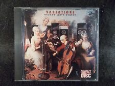Variations by Andrew Lloyd Webber (CD, 1978) Scarce!