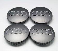 4x 69mm Audi Wheel Center Caps Emblem Cover Hub A3 A8 A5 A6 S3 S4 TT 8D0 601 170