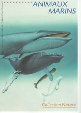 DPO 21 02 510 / FDC 04/05/02 / Animaux marins Collection nature