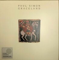 Paul Simon ‎– Graceland - Reissue  Clear  Vinyl LP   New Sealed