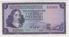More details for nd1967 south africa 5 rand replacement note | bank notes | pennies2pounds